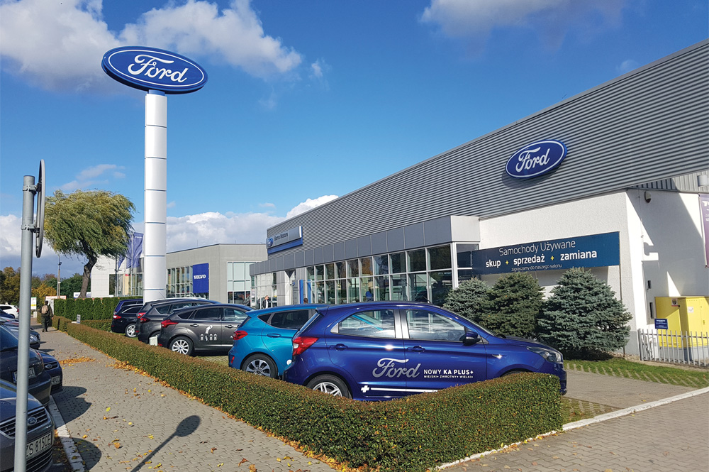 Ford Bemo Motors Szczecin Pomorska